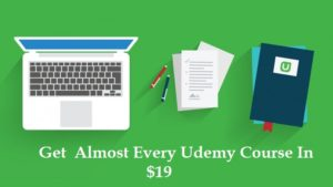 Udemy November month Sale